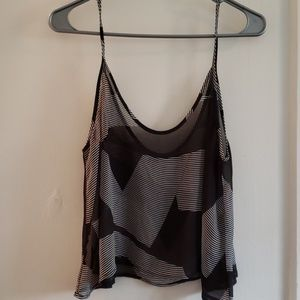 Sheer volcom crop top